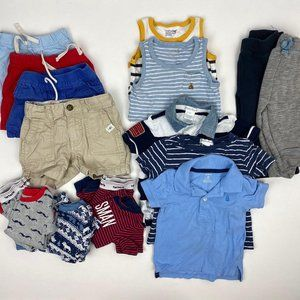 Baby Boy 17 Piece Bundle Lot 12 Months Gap, RL